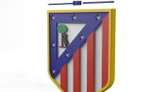 Club Atlético de Madrid Logo 3D