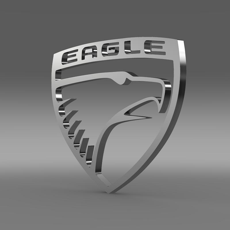 Eagle Logo 3D Wallpaper