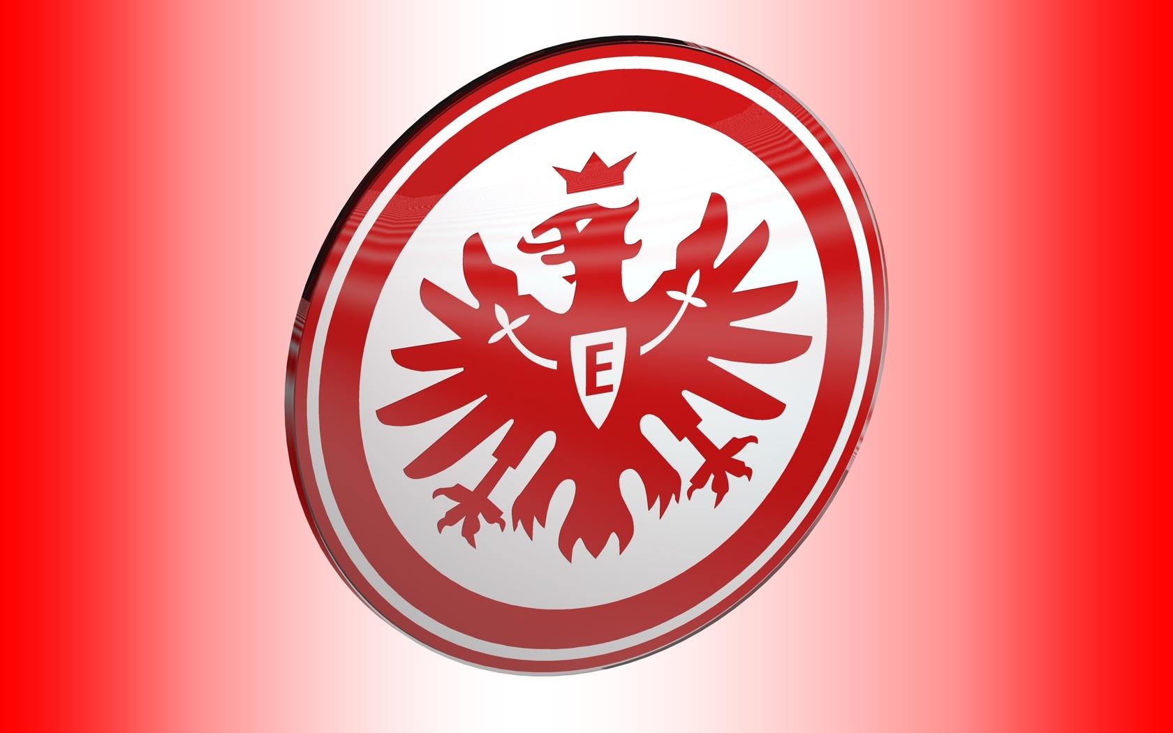 Eintracht Frankfurt Logo 3D Wallpaper
