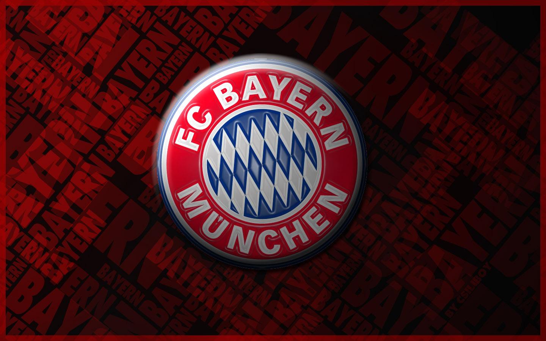 FC Bayern München Logo 3D Wallpaper