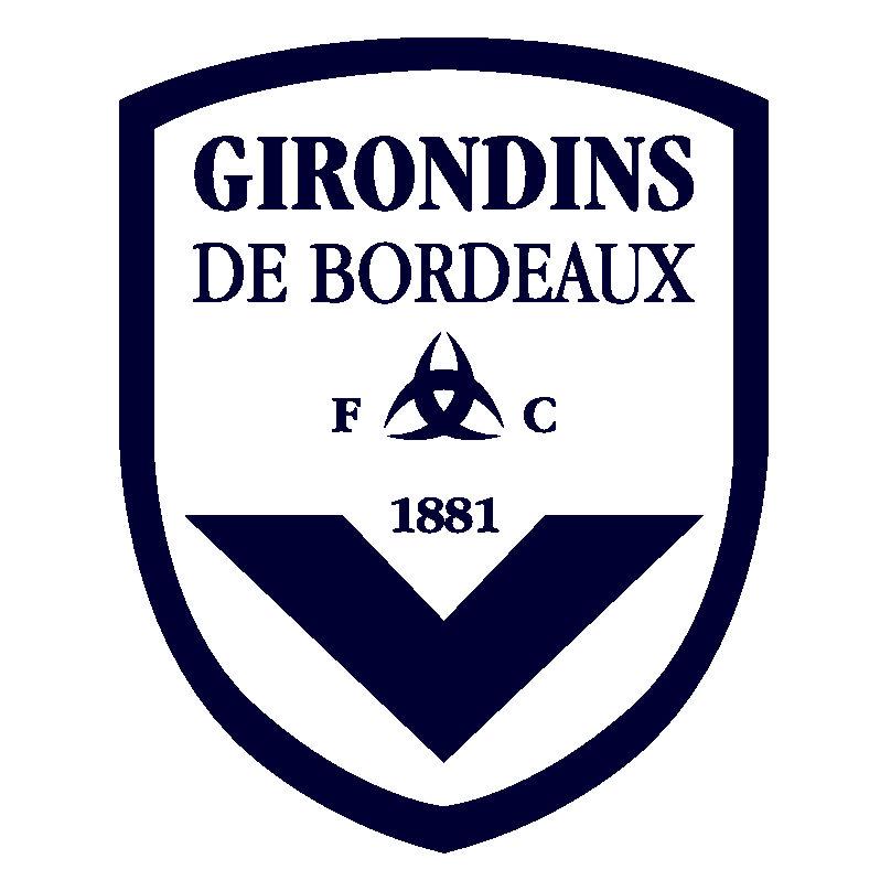 FC Girondins de Bordeaux Logo Wallpaper