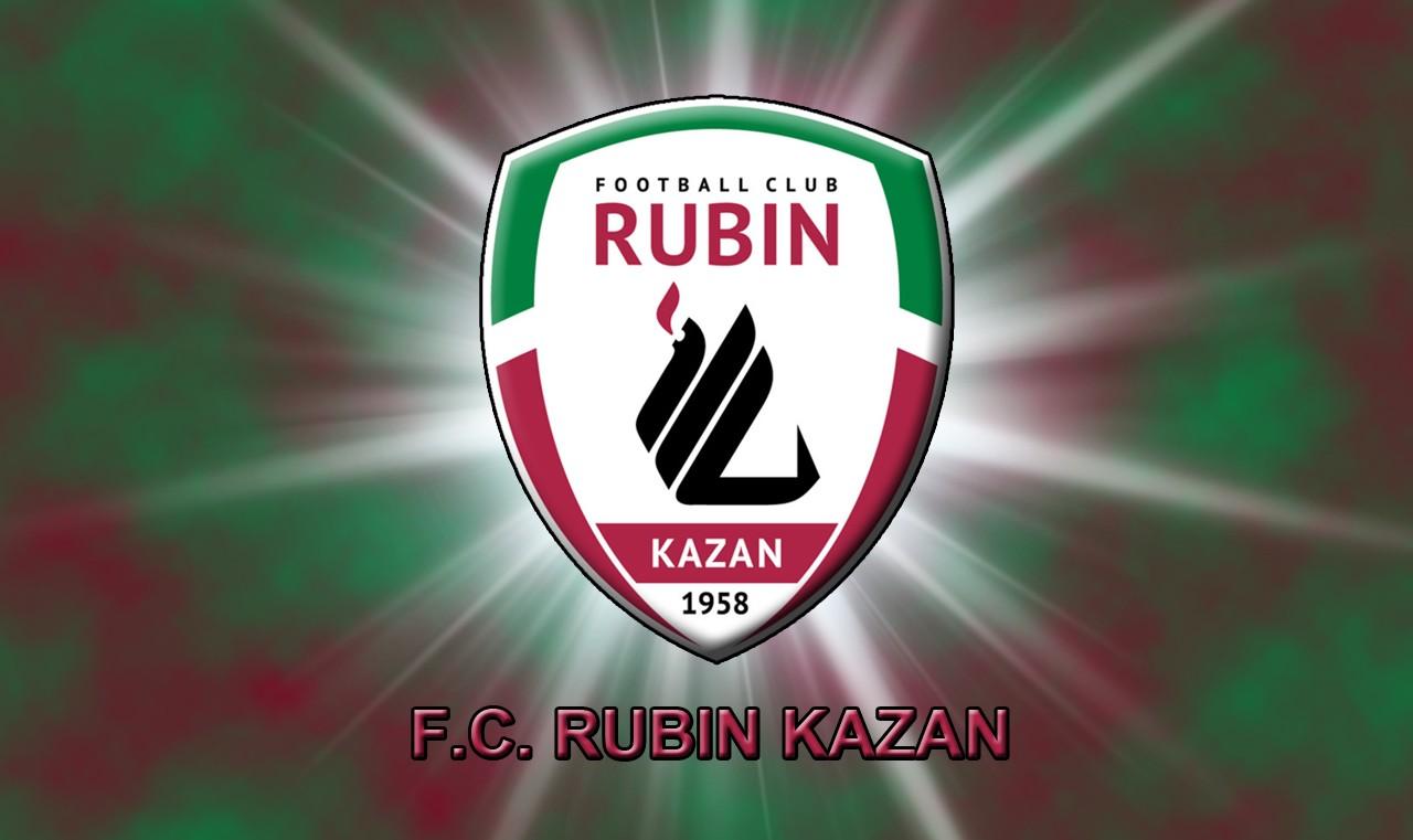 FC Rubin Kazan Logo 3D Wallpaper