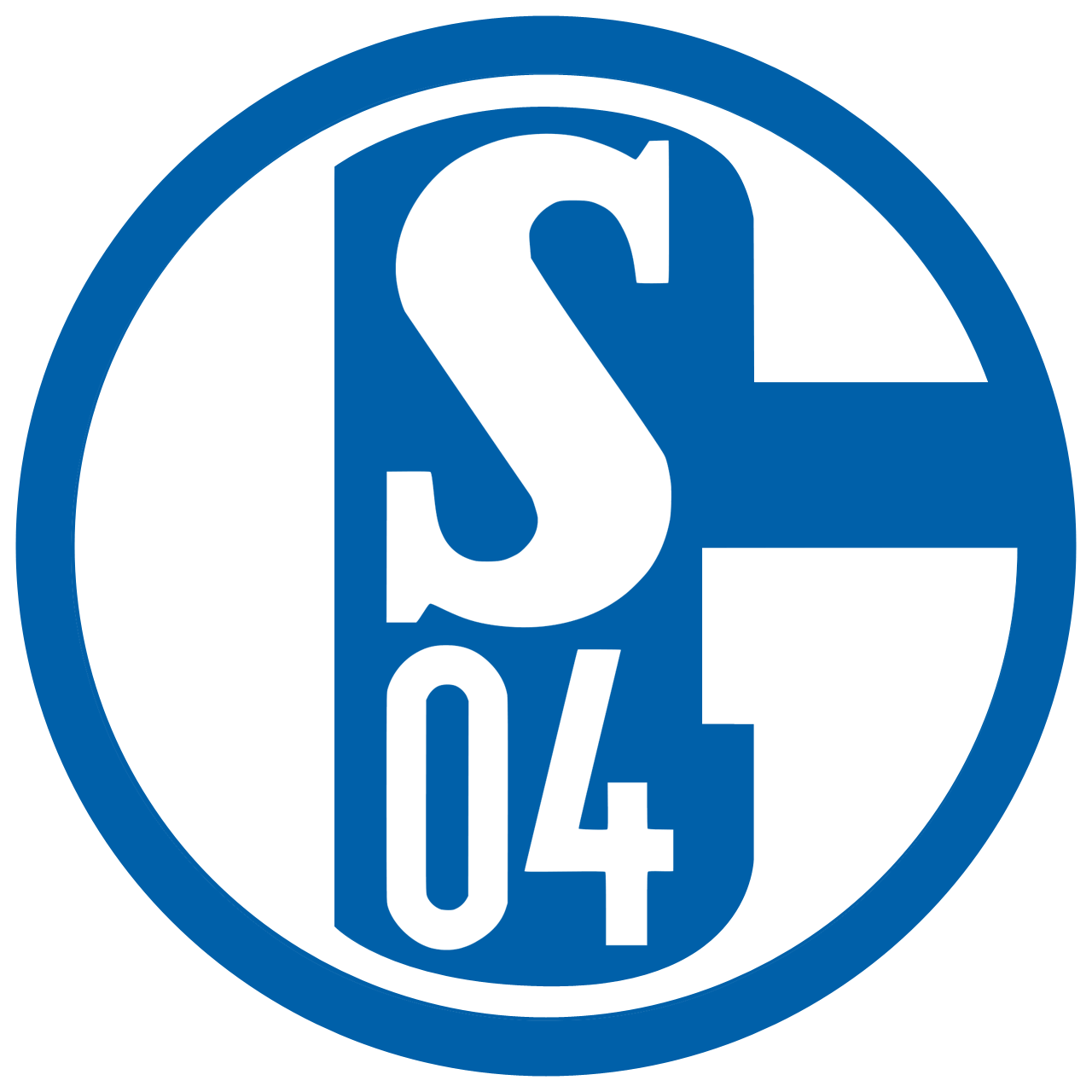 FC Schalke 04 Logo Wallpaper
