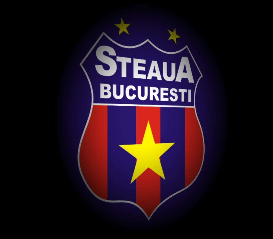 FC Steaua Bucuresti Logo 3D Wallpaper