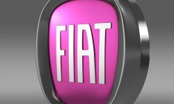 Fiat Logo 3D
