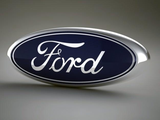 Ford Logo 3D Wallpaper