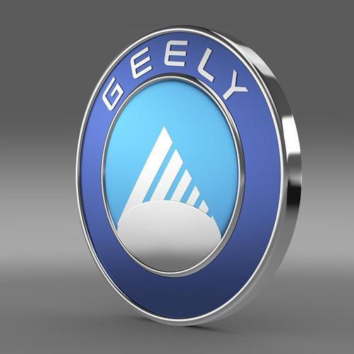 Geely Logo 3D Wallpaper