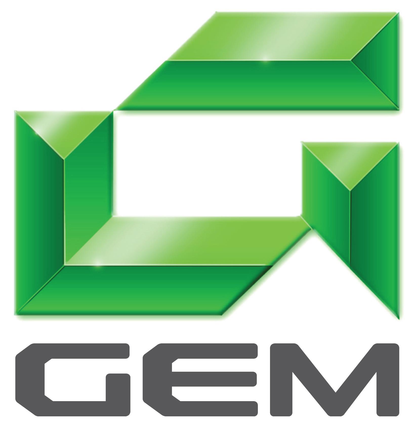 Global Electric Motorcars Logo Wallpaper
