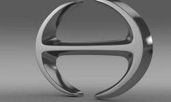 Hino Logo 3D