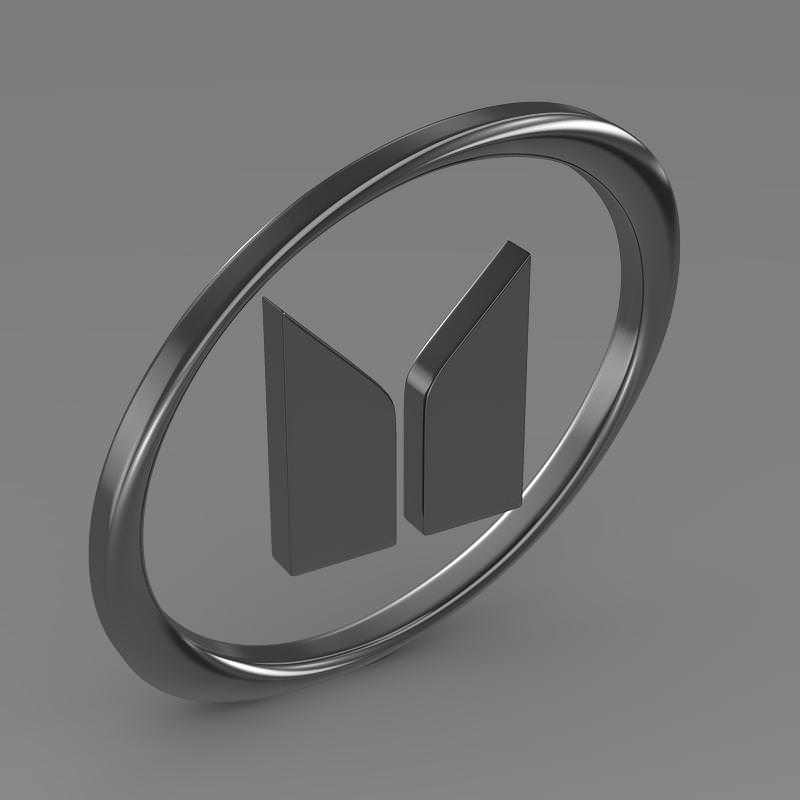Isuzu Logo 3D Wallpaper