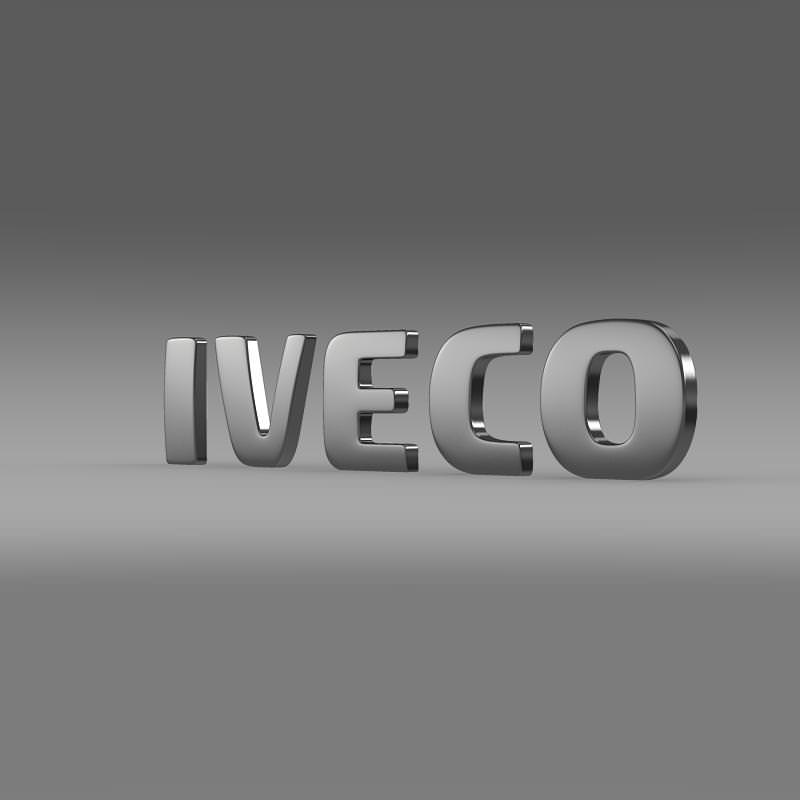 Iveco Logo 3D Wallpaper