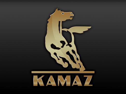 Kamaz Logo 3D Wallpaper