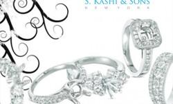Kashi Jewellers Logo 3D