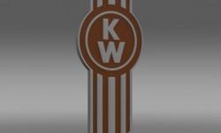 Kenworth Logo 3D