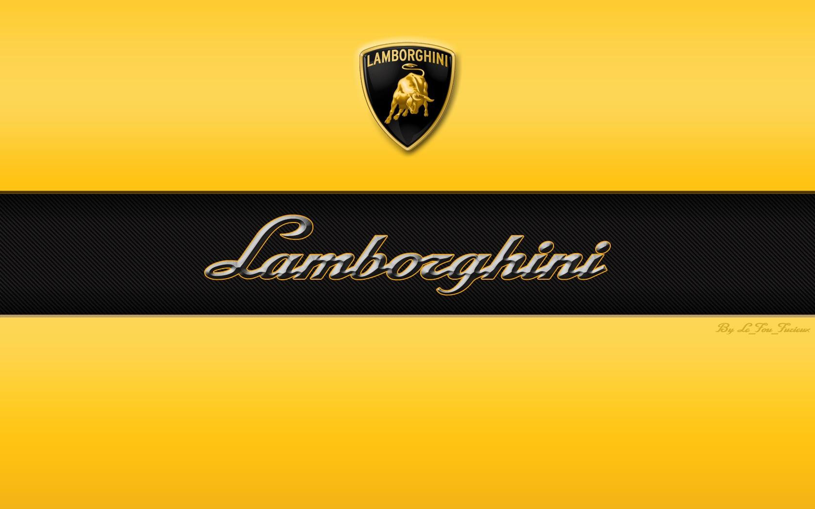 Lamborghini branding Wallpaper