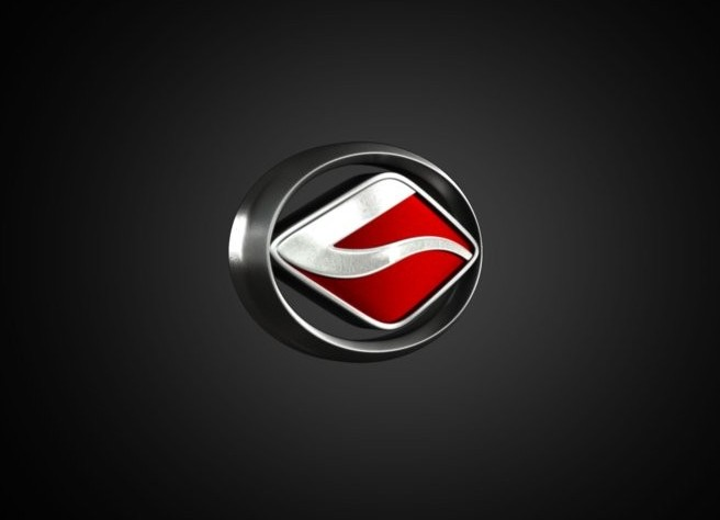 Landwind Logo 3D Wallpaper