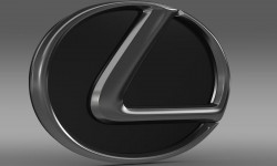 Lexus logo 3D