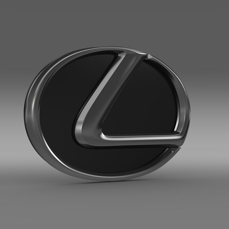 Lexus logo 3D Wallpaper