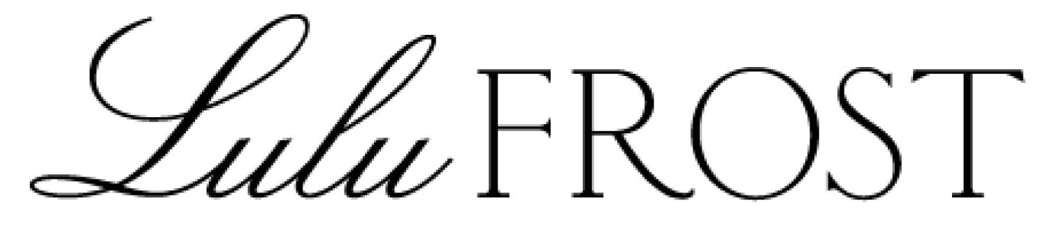 Lulu Frost Logo Wallpaper