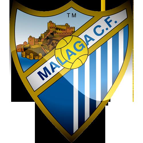 Malaga CF Logo 3D Wallpaper
