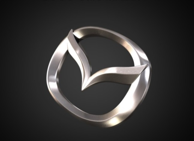 Mazda logo 3D Wallpaper
