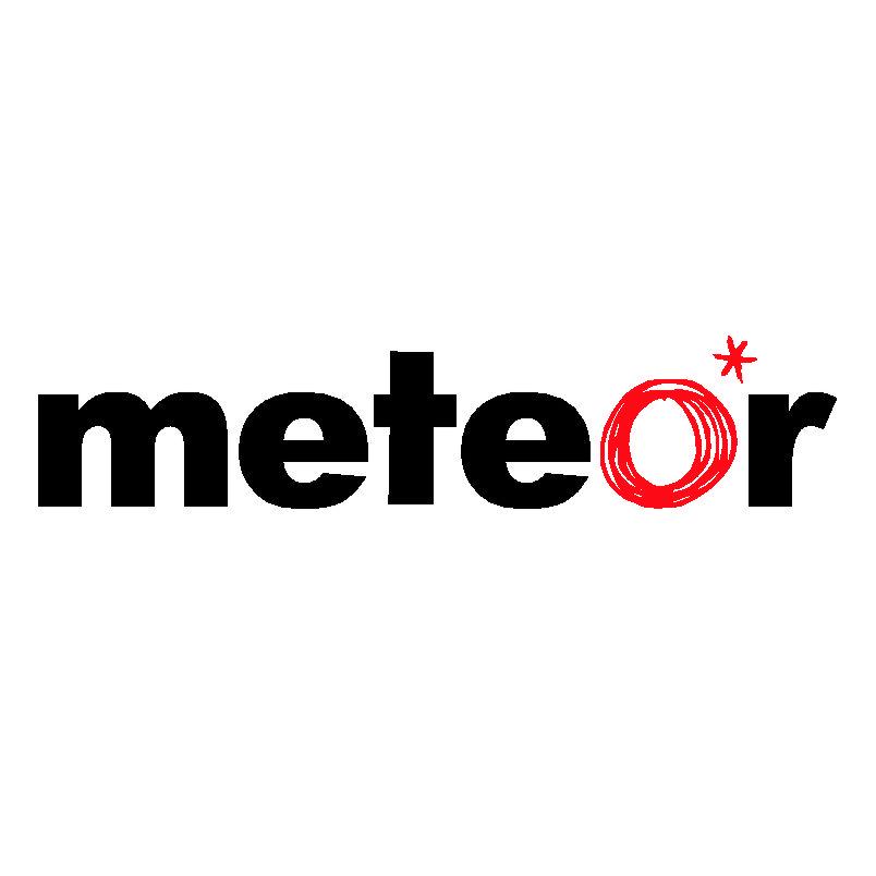 Meteor Logo 3D Wallpaper