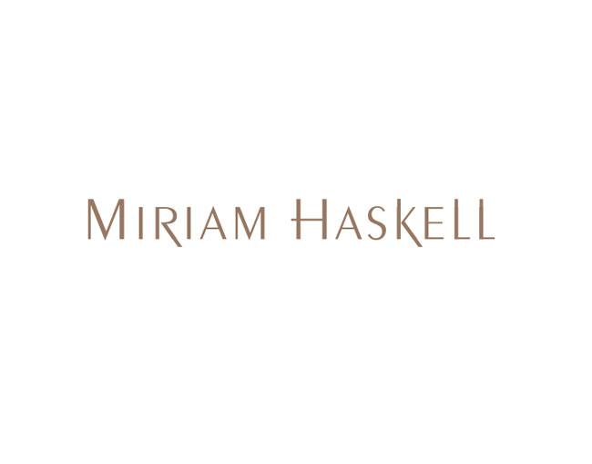 Miriam Haskell Logo Wallpaper