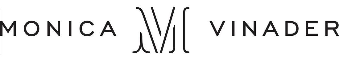 Monica Vinader Logo 3D Wallpaper