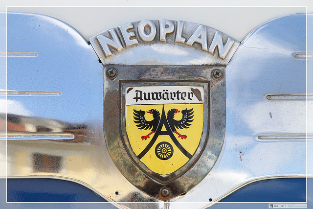 Neoplan Logo 3D Wallpaper