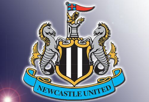 Newcastle United FC Logo 3D Wallpaper