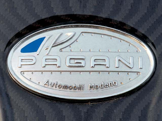 Pagani emblem Wallpaper