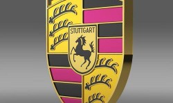 Porsche Logo 3D