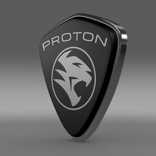Proton Logo 3D Wallpaper