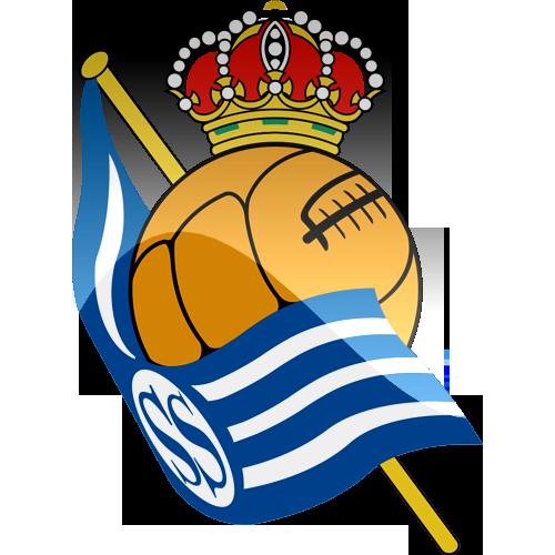Real Sociedad de Futbol Logo 3D Wallpaper