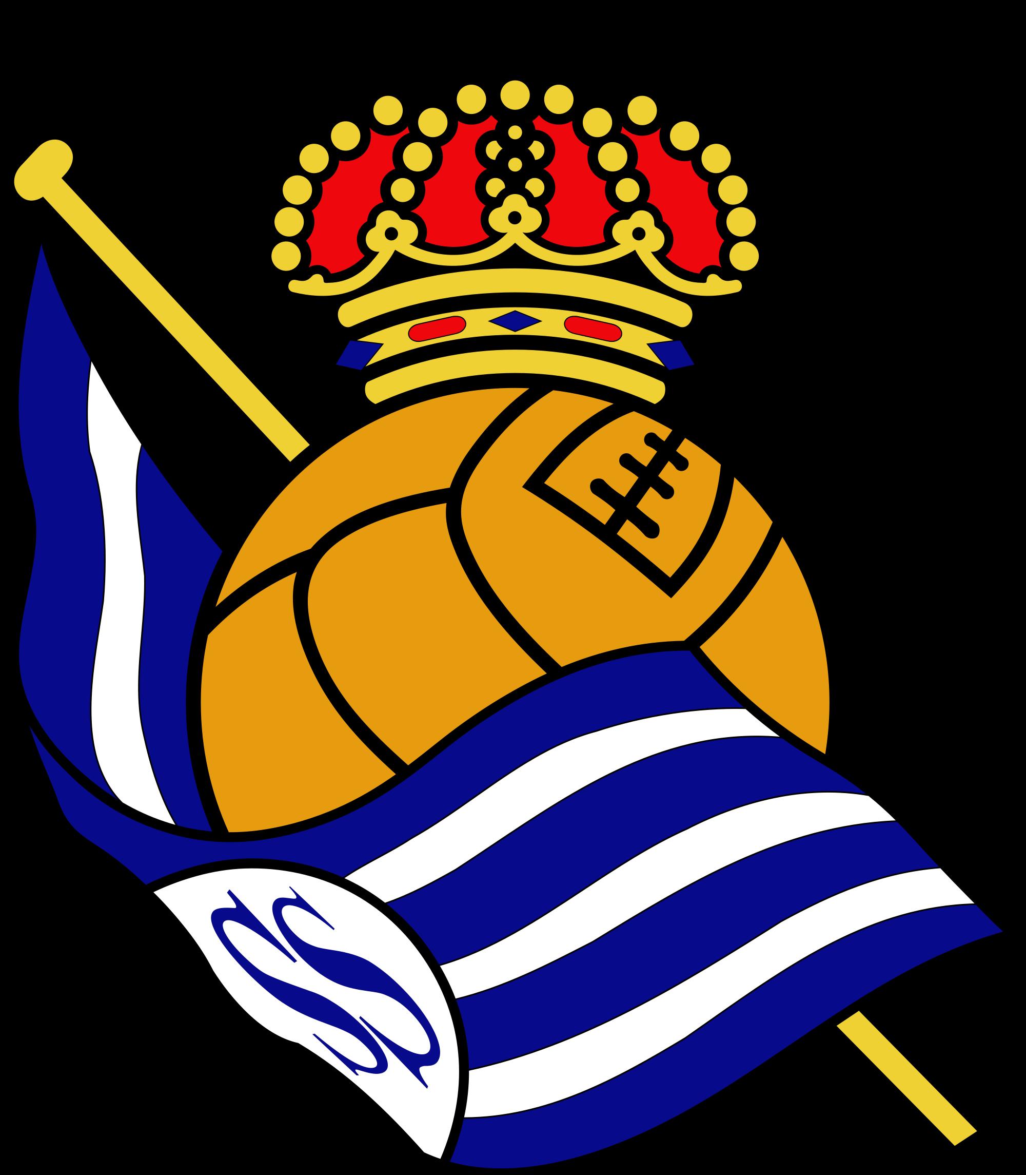 Real Sociedad de Futbol Logo Wallpaper