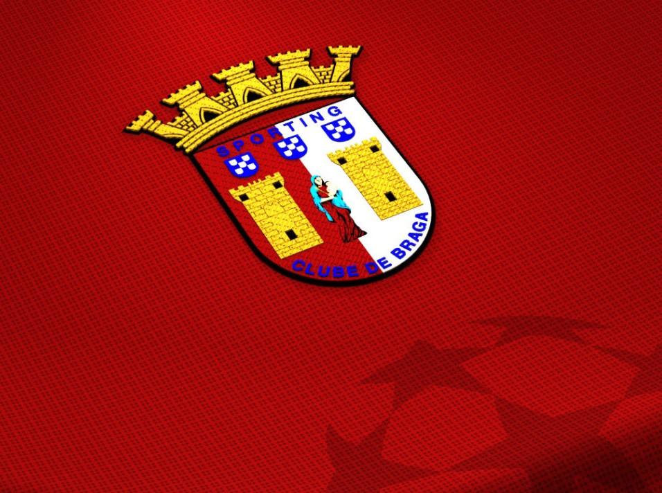 SC Braga Logo 3D Wallpaper