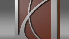 Saturn Logo 3D