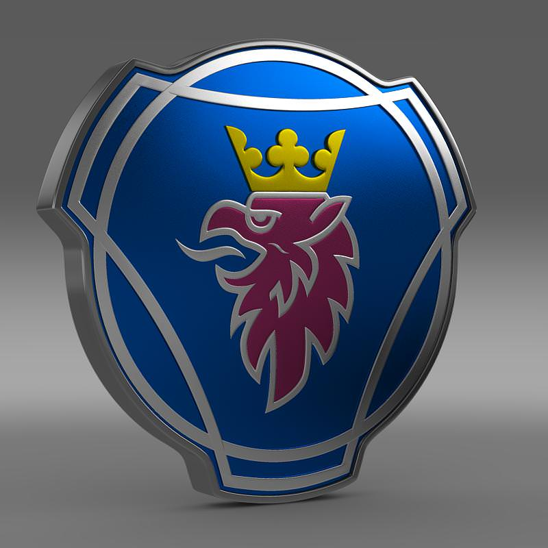 Scania Logo 3D Wallpaper