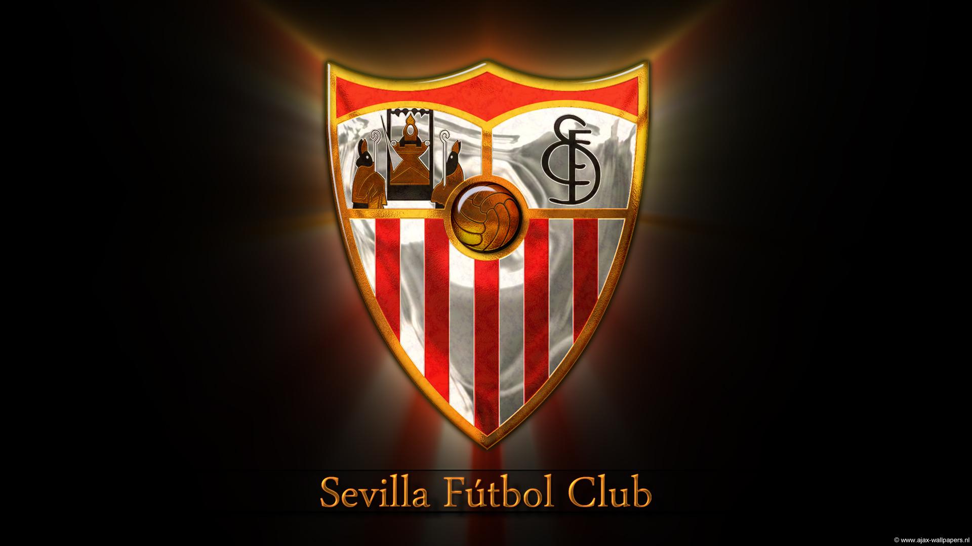 Sevilla FC Logo 3D Wallpaper