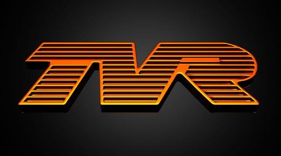 TVR Logo 3D Wallpaper