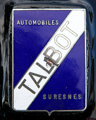 Talbot Logo 3D Wallpaper