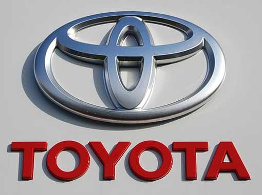 Toyota Logo 3D Wallpaper