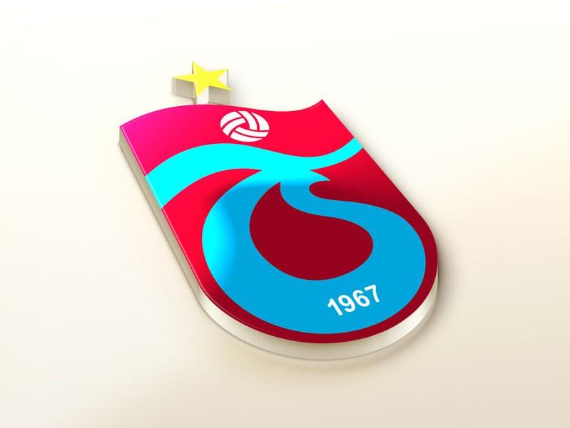 Trabzonspor AS Logo 3D Wallpaper