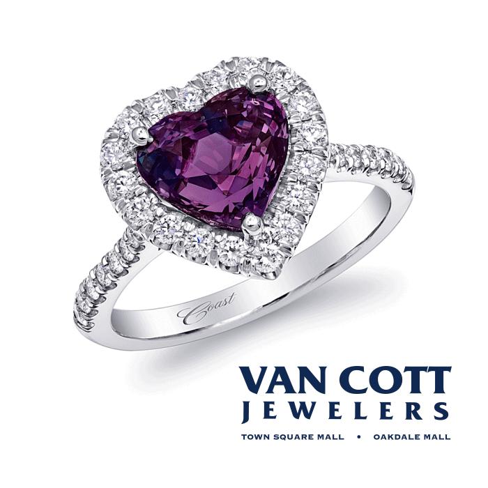 Van Cott Jewelers Logo 3D Wallpaper