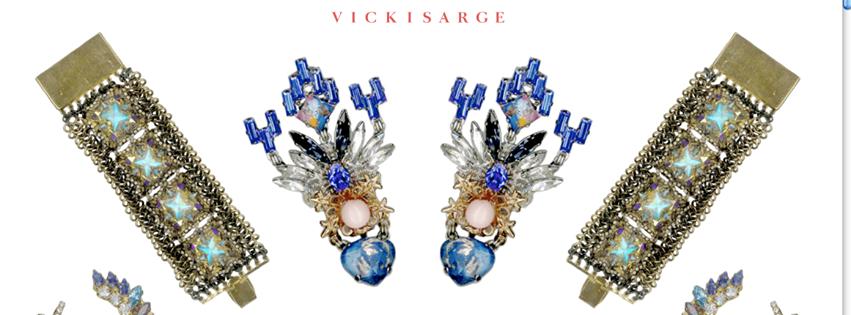 Vicky Sarge Logo 3D Wallpaper