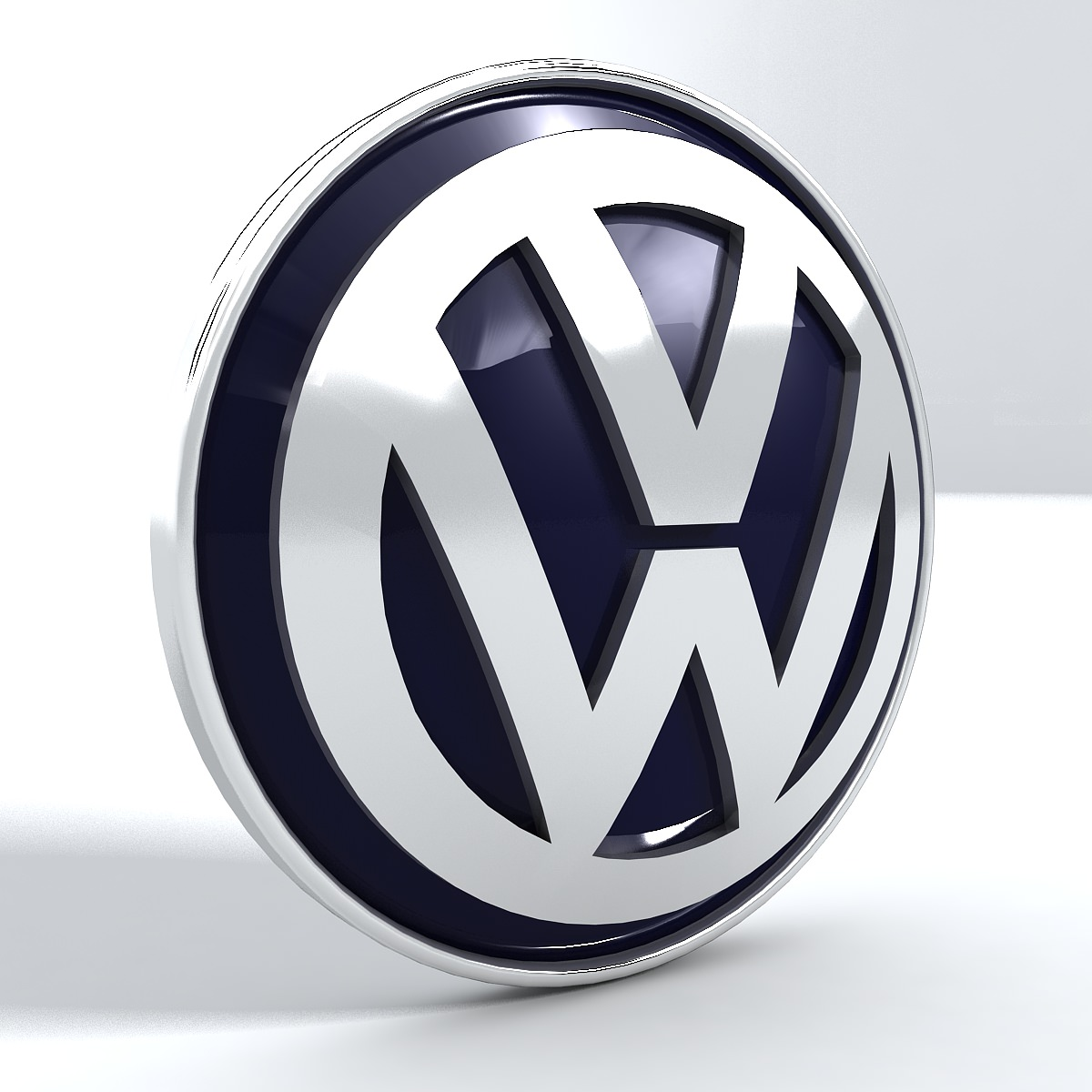 Volkswagen Logo 3D Wallpaper
