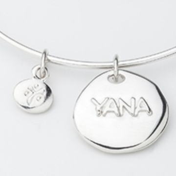 Yana Jewelery Logo 3D Wallpaper
