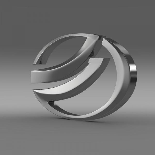 ZAZ Logo 3D Wallpaper
