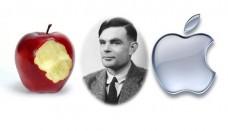 Alan turing Apple logo