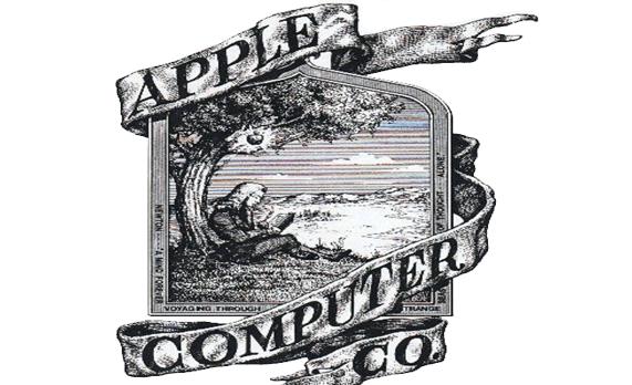 Apple first logo Wallpaper